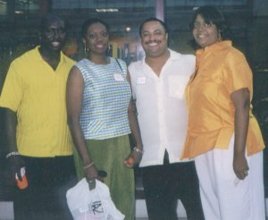 Wally, Kim Roby, E. Lynn Harris, Desiree